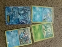 four assorted Pokemon trading cards Hagerstown, 21740