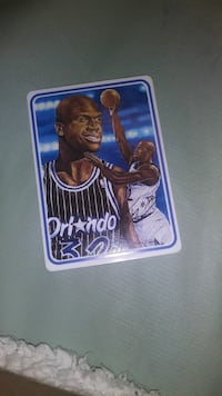 Shaquille O'Neal Ceramic Card Chino Hills
