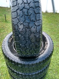 265 70 R17 4 used tires all terrain$380 Mulberry, 33860
