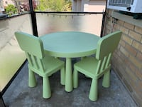 Kids Table and Chairs Toronto, M4S 1E6