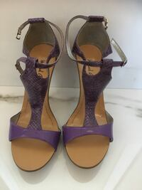 Purple high heel summer sandals for sale!!  Vaughan, L4H 2V6
