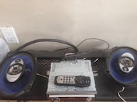Kenwood Car stereo and speakers