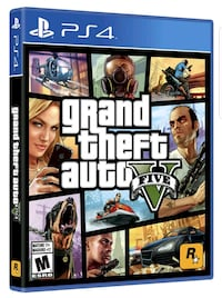 Caso de juego Grand Theft Auto Five PS4 Palma