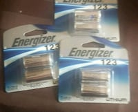 Energizer  3volt specialty batteries Abbotsford, V2S 5A1