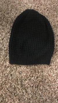 Black knitted beanie  Griffin, 30224
