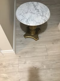 Two marble side table Toronto, M6E 2N4