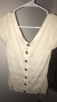 white button-up vest El Paso, 79912