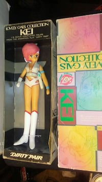 Vintage doll from 1970's movie Dirty Pair NIB  Blue Springs, 64014