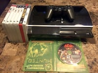 PS3 with 8 games and 1 controller.  Laval, H7S 1L4