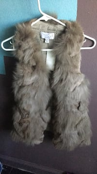 white and brown fur coat Carson, 90746