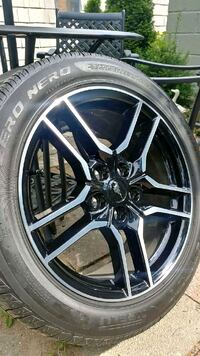 2018 mustang GT Rims and tires new Washington Crossing, 18977