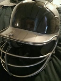 black and gray baseball helmet Pearl River, 10965