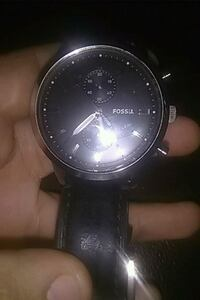 Fossil watch Stainless Steel frame black band Los Angeles, 91324
