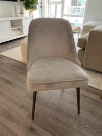 West Elm Dining Chairs Set of 4 Marina del Rey, 90292