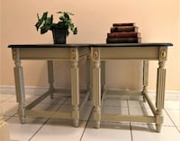 SIDE TABLES -- SPRING SALE PRICE