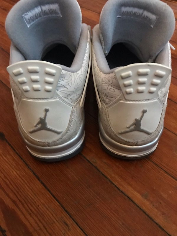 reputable site b3f22 e0d9d Used 100% Authentic Air Jordan IV sz 12 (Laser) for sale in New York - letgo