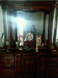 brown wooden dresser with mirror Cincinnati, 45211