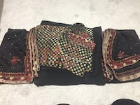 Assorted fabric clothes