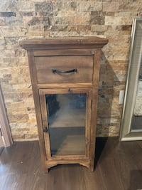 Rustic Distressed Wooden Accent Cabinet Mississauga, L5A 4N8