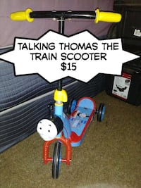 Talking Thomas the train scooter