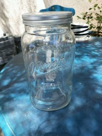 clear glass mason jar with lid Lancaster, 93536