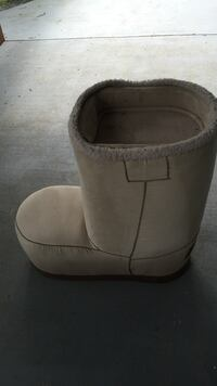 Furniture beige suede boot Woodbridge, 22192
