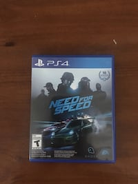 Need for Speed PS4 game case Sylvania, 43560