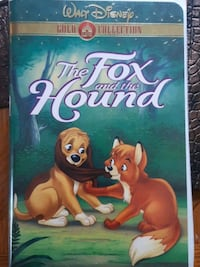 The Fox and the Hound (VHS, 2000, Gold Collection Bedford, B4A 4C3