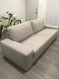 18 month old couch from clean, smoke free, pet free home. Great condition.  We bought a sectional to fit the space better.  220 OBO Santa Monica, 90403