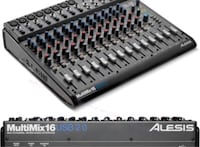 "Integrated USB 2.0 Audio Interface and Mixer ""Alesis"" Toronto, M5R 2T6"