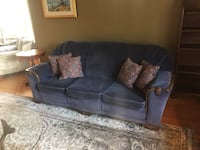 Blue Antique Couch New Westminster