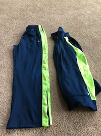 Blue and green adidas track pants Cochranville, 19330
