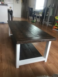Brand new rustic coffee table serious buyers only