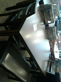 Dining Table, four chairs and a bench Special Phoenix, 85018