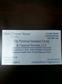 Life Insurance, Medicare and Final Expenses  Chicago