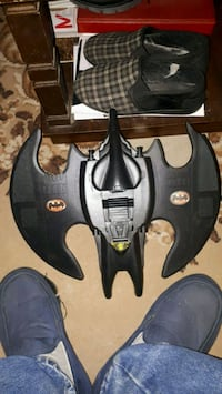 Bat wing missing few parts,, still shoots and pincer still works too