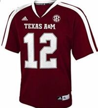 Texas a and m Addis's SEC jersey number 12 Palm Desert, 92260