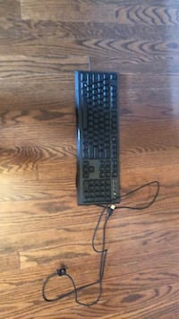 Gaming keyboard Used once 10/10 condition Vaughan, L4H 0Y4