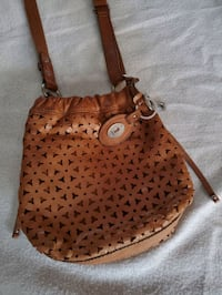 Fossil leather crossbody bag Mississauga, L5M 7G9