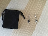 GORGEOUS BRAND NEW SILVER EARRINGS PERFECT GIFT. Montréal, H9K 1S7