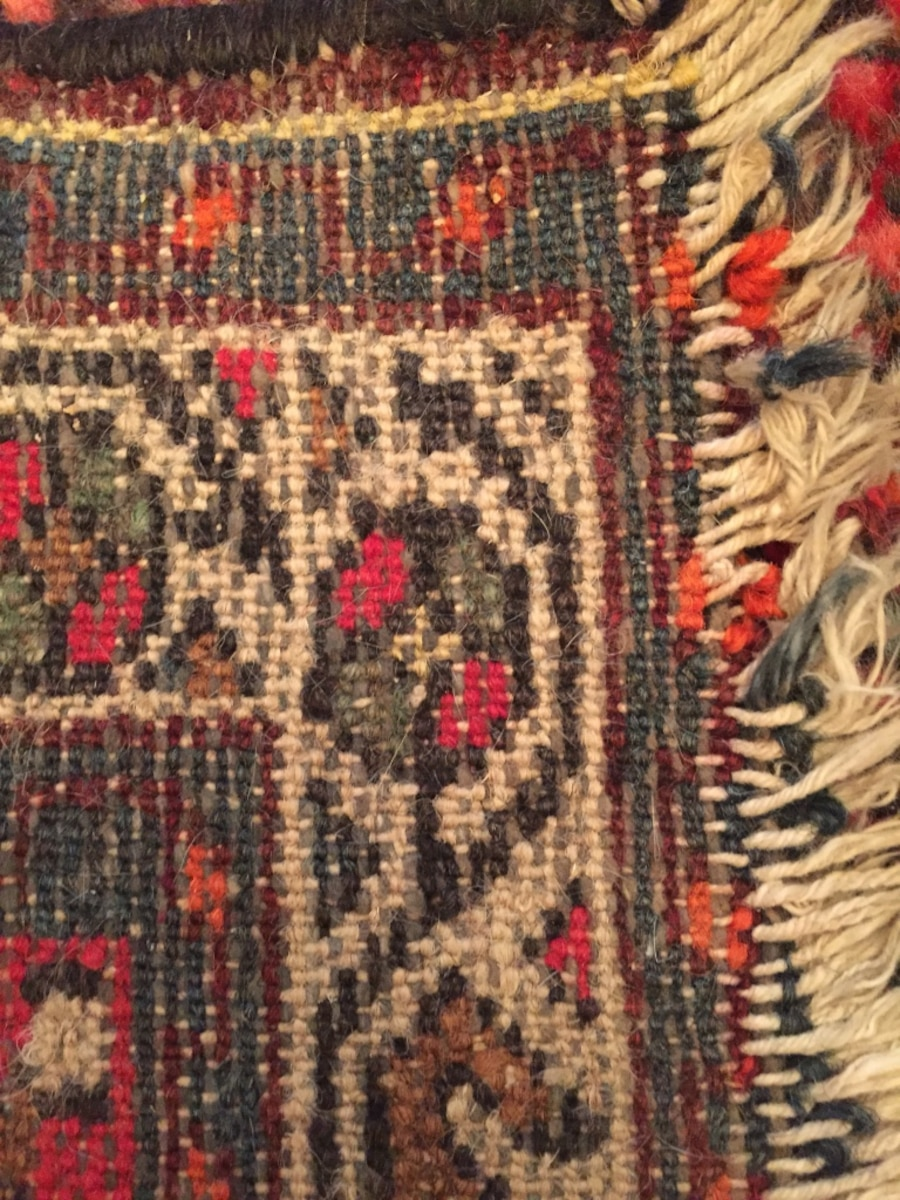 red small handmade rug - Canada