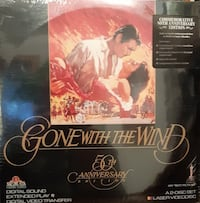 LASER DISC - Gone With The Wind 50th Anniversary  BRAND NEW SEALED   P
