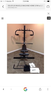 black exercise machine Anaheim, 92806