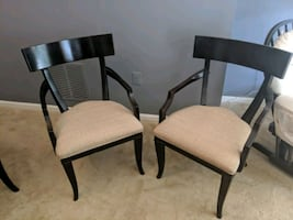Two Haverty's Arm Chairs