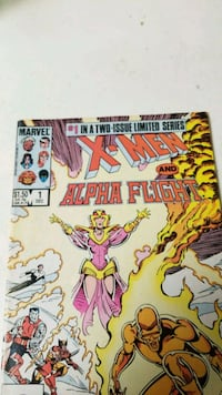 Marvel X-Men and Alpha Flight comic book Clifton, 07011
