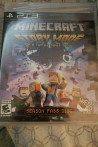 Minecraft Story Mode Xbox 360 game case Rancho Cucamonga, 91701