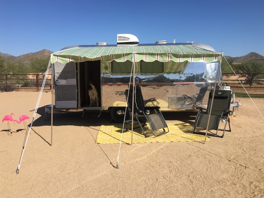 Photo Airstream Argosy Trailer
