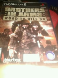 Used ps2 brothers in arms road to hill 30 ps2 game Toronto, M3C 1E8