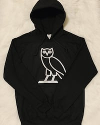 Drake's Ovo Owl Silver Hoodie