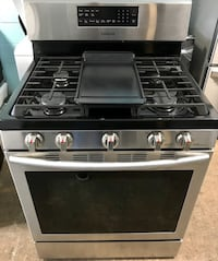 Samsung stainless steel gas stove 15% pff Reisterstown, 21136